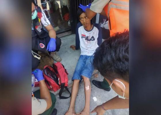 Nusabali.com - mesin-setrika-meledak-1-karyawan-laundry-terluka