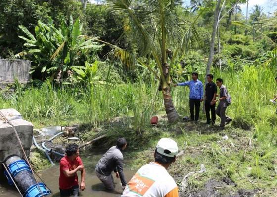 Nusabali.com - dprd-tinjau-pipa-pdam-pecah-di-rendang