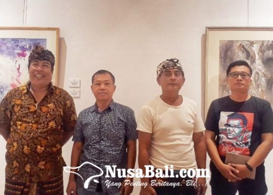 Nusabali.com - dua-sahabat-gelar-pameran-bersama-di-griya-santrian