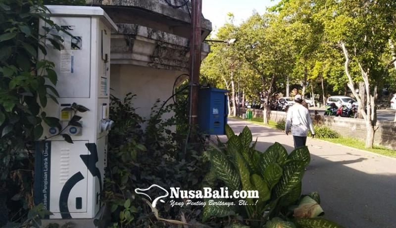 www.nusabali.com-sambut-kendaraan-listrik-bali-sudah-menyediakan-127-splu