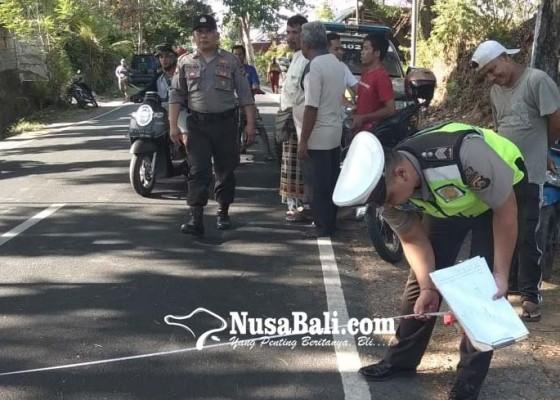Nusabali.com - potong-jalan-mahasiswa-tertabrak-colt-di-kubutambahan