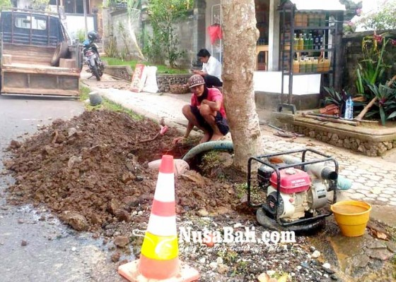 Nusabali.com - listrik-padam-distribusi-air-terganggu