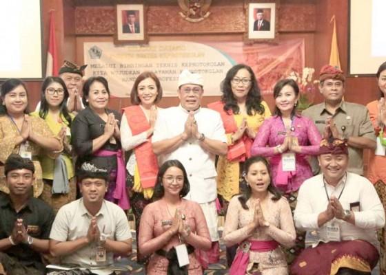 Nusabali.com - pemkot-denpasar-gelar-bimtek-keprotokolan