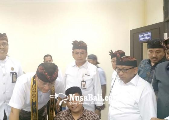 Nusabali.com - mensos-temu-penyandang-disabilitas-di-tabanan