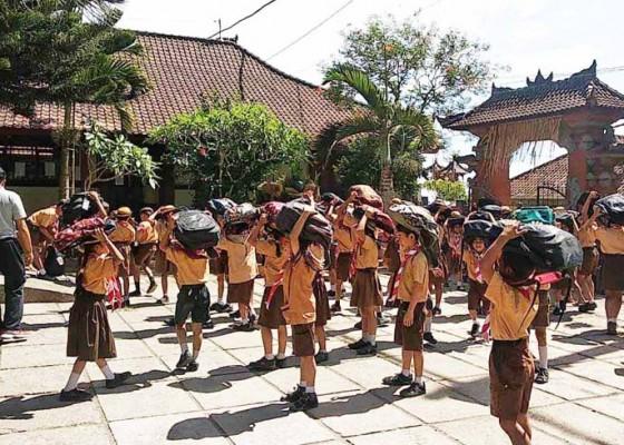 Nusabali.com - siswa-sd-dilatih-mitigasi-bencana