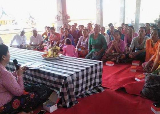 Nusabali.com - desa-adat-tuminggal-gelar-pelatihan-banten