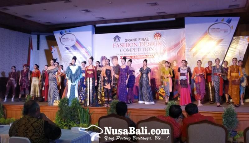 www.nusabali.com-badung-angkat-kain-tenun-endek-lewat-lomba-desain