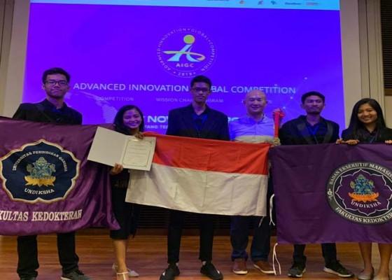 Nusabali.com - tim-kedokteran-undiksha-berjaya-di-singapura