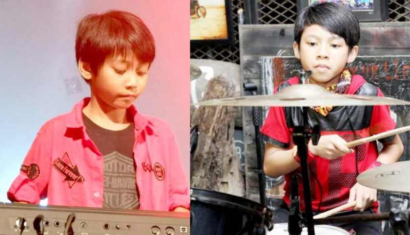 www.nusabali.com-duo-kakak-adik-bertalenta-dalam-musik-prabu-jago-ngedrum-sakti-keren-main-piano