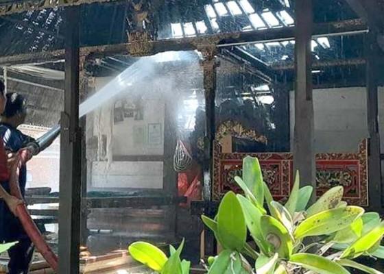 Nusabali.com - mesin-oven-meledak-bale-dangin-terbakar