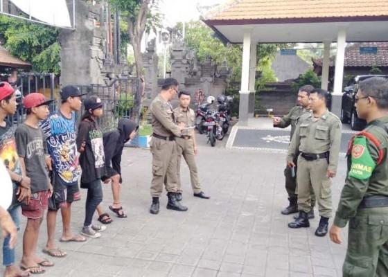 Nusabali.com - satpol-pp-kembali-amankan-6-anak-punk-tanpa-identitas