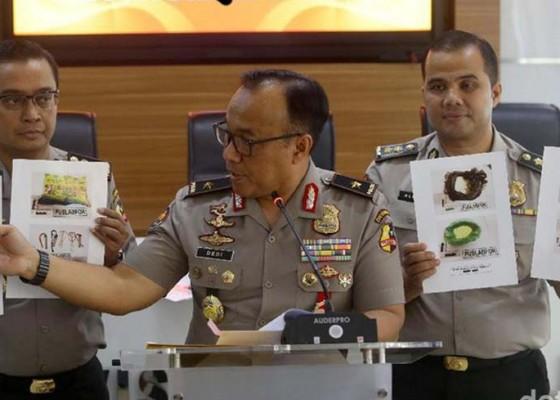 Nusabali.com - pasca-teror-bom-di-polrestabes-medan-polisi-tetapkan-46-tersangka-terorisme