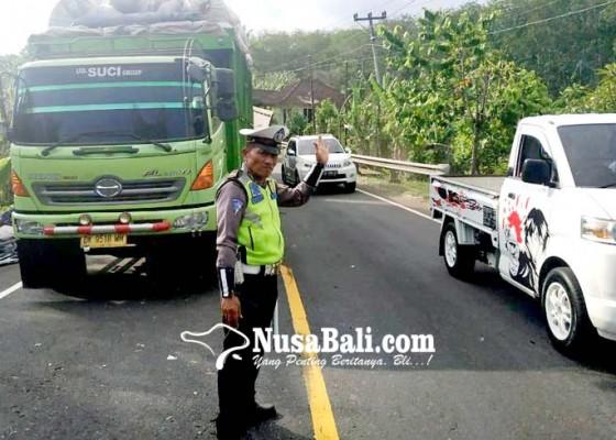 Nusabali.com - truk-mogok-di-pekutatan-arus-lalin-tersendat-7-jam