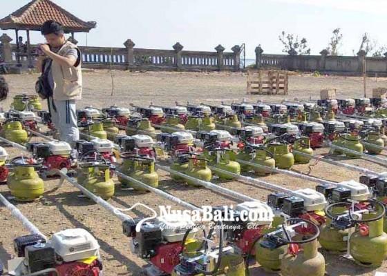 Nusabali.com - dinas-perikanan-bagikan-778-mesin-konventer-kit