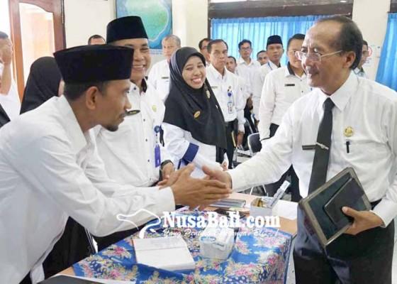 Nusabali.com - anggaran-rehab-kantor-kemenag-karangasem-rp-7-m