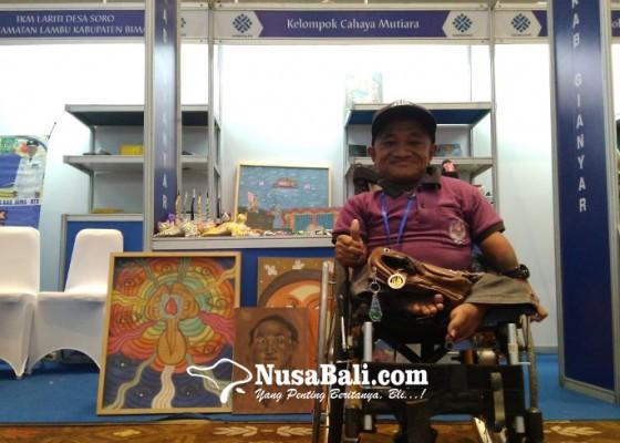 Nusabali.com - nyoman-budiarta-berkarya-dalam-keterbatasan