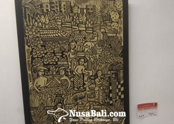 Nusabali.com - erica-dewi-tampilkan-seni-lukis-berteknik-linocut