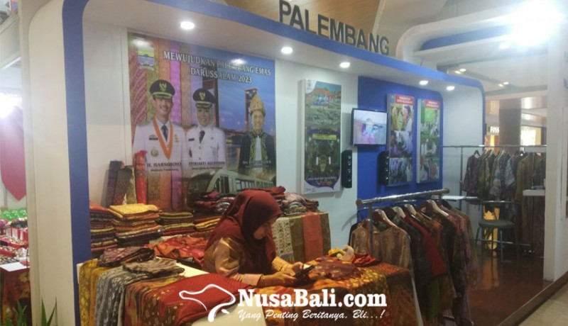 NusaBali.com - Salah satu stand di BITTRA Expo Bali di Mall Level 21.-YULIA