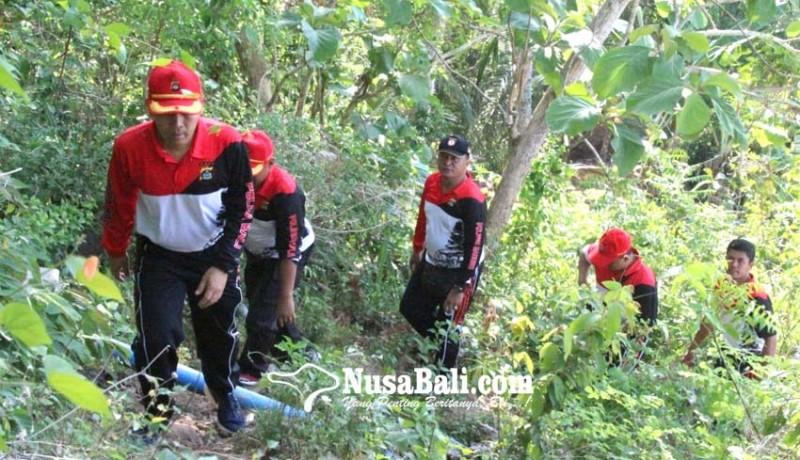 www.nusabali.com-jaga-solidairtas-personel-polres-gelar-hiking-ke-bukit-tengah