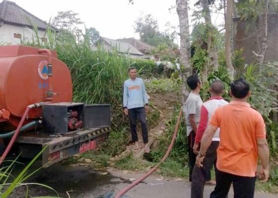 Nusabali.com - krama-pucangan-kesulitan-air-bersih