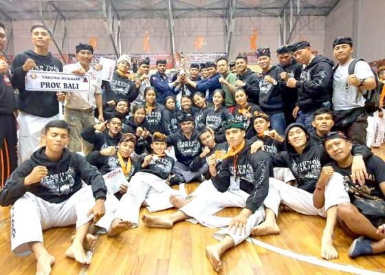 Nusabali.com - tarung-derajat-bali-juara-umum