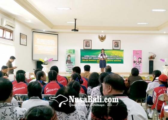 Nusabali.com - cegah-korupsi-kejari-tabanan-gelar-lomba-tingkat-smp