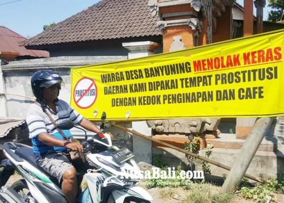 Nusabali.com - warga-banyuning-tolak-penginapan-warung-tuak-dan-kafe
