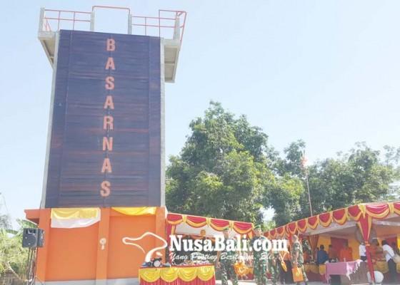 Nusabali.com - pos-pertolongan-buleleng-dilengkapi-tower-repling
