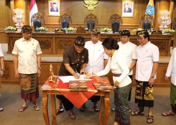Nusabali.com - apbd-badung-2020-disahkan-belanja-publik-di-atas-75-persen