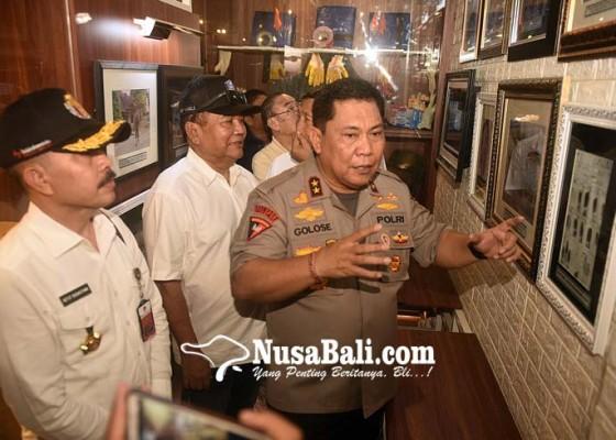 Nusabali.com - kapolda-bali-resmikan-museum-terorisme-pertama