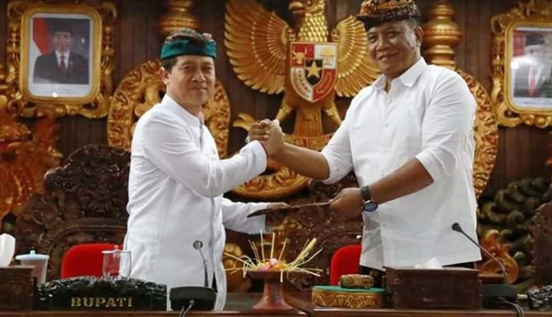 www.nusabali.com-dprd-klungkung-sahkan-apbd-2020