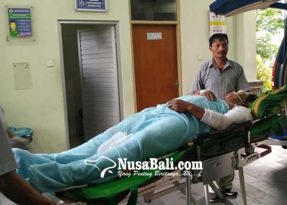 Nusabali.com - ngecat-tembok-buruh-nyaris-tewas-tersengat-listrik