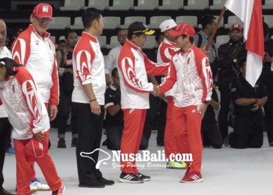 Nusabali.com - atlet-bali-siap-kibarkan-merah-putih
