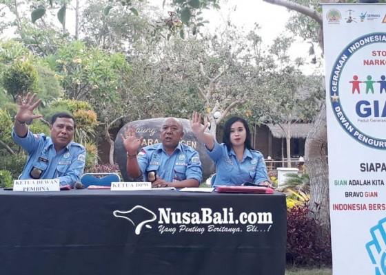 Nusabali.com - dpw-gian-bali-dibentuk-bantu-bersih-bersih-narkoba
