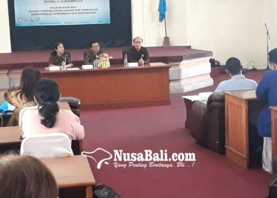 Nusabali.com - penyuluhan-bahasa-indonesia-perbaiki-kesalahan-penulisan-di-media