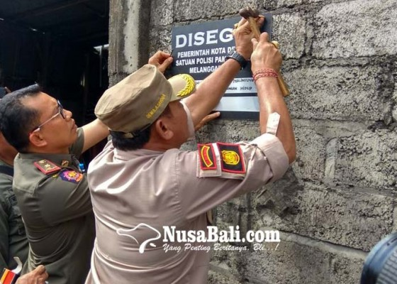 Nusabali.com - usaha-sablon-pembuang-limbah-disegel