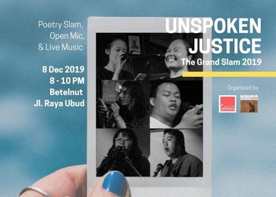 Nusabali.com - final-unspoken-bali-poetry-slam-tampilkan-enam-pembaca-puisi-terbaik