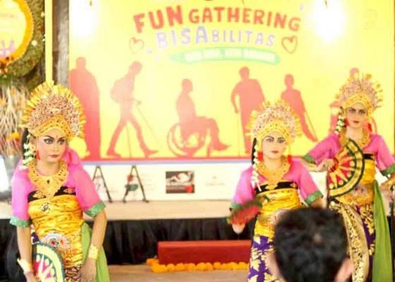 Nusabali.com - ratusan-penyandang-disabilitas-ramaikan-fun-gathering