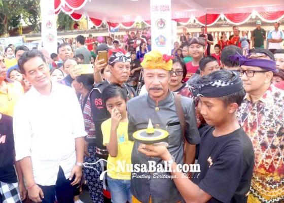 Nusabali.com - permainan-tradisional-imbangi-generasi-muda-kecanduan-gadget
