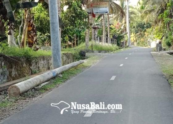 Nusabali.com - krama-tegallinggah-jaga-akses-objek-wisata