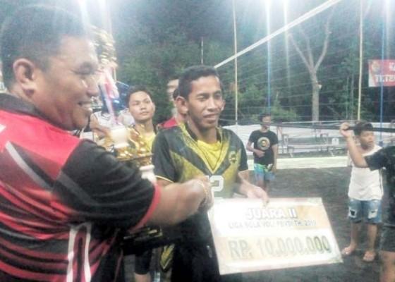 Nusabali.com - gema-kubu-juara-liga-voli-karangasem