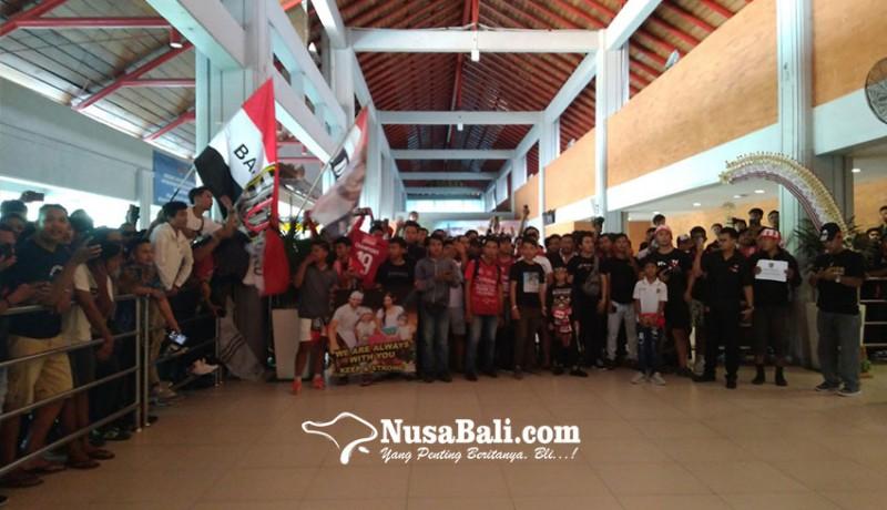 www.nusabali.com-bali-united-dielu-elukan-di-bandara-ngurah-rai