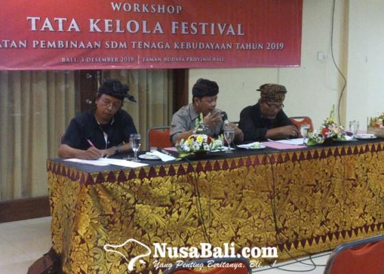 Nusabali.com - workshop-tata-kelola-festival-gaet-komunitas-dan-sanggar-se-bali