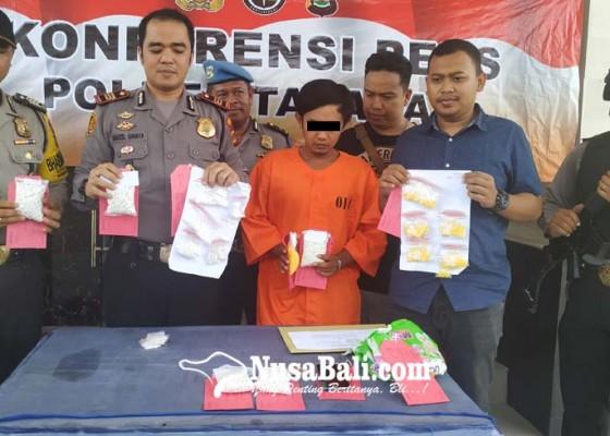Nusabali.com - edarkan-6971-pil-koplo-buruh-proyek-dibekuk