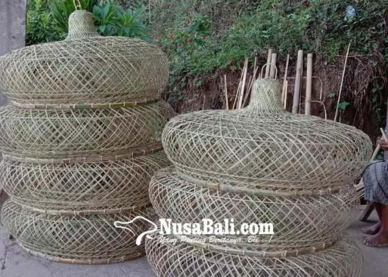 Nusabali.com - kreasi-anyaman-bambu-sidetapa-buleleng