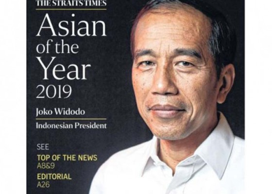 Nusabali.com - jokowi-dianugerahi-asian-of-the-year-2019