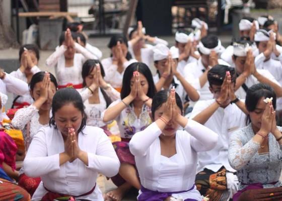 Nusabali.com - hari-raya-saraswati-di-stiki-indonesia