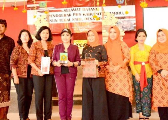 Nusabali.com - pkk-kabupaten-baru-sulawesi-selatan-belajar-inovasi-di-denpasar
