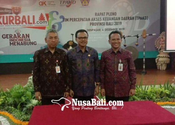 Nusabali.com - dukung-penyaluran-kur-kurbalicom-diluncurkan