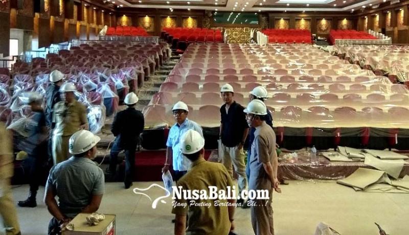 www.nusabali.com-penyelesaian-gedung-balai-budaya-diprediksi-molor